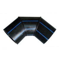 China Oil And Natural Gas Welding Butt HDPE 90 Degree Elbow on sale