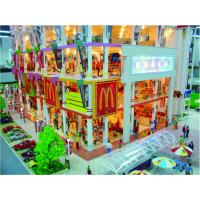 China OEM City Architechtural Scale Model Railway Scenery Backdrops on sale