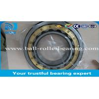 NJ220- E-M1 Cylindrical Single Row Roller Bearing With Steel / Brass Cage Manufactures