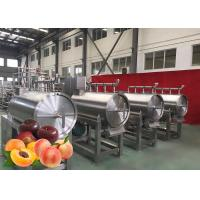 China Modular Design Peach Processing Plant High Productivity 12 Months Warranty on sale