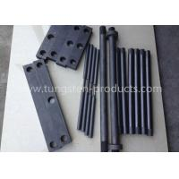 Vacuum Furnace Parts Pure Molybdenum Plate / Molybdenum Square Bars for Heating Bars Manufactures