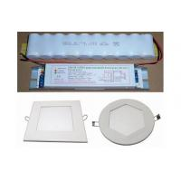 2700-6500K 1200-1300Lm Emergency LED Panel Light , led circular panel lights Manufactures