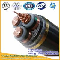 Buy cheap Hot sale 10kV 3x120mm2 XLPE Insulated Steel Tape Armoured Power Cable from wholesalers