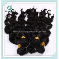 China Malaysian 5A virgin hair loose wave weft natural color(can be dye) 10''-26''hair extension on sale