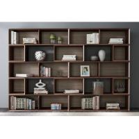 Home Study room Office Furniture American Walnut Wood Combined Bookcase with Shelves by Classic Nordic design Manufactures