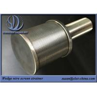 SS High Pressure Water Spray Nozzle Filtration Solid Stream Wedge Wire Screen Filter Nozzle Manufactures