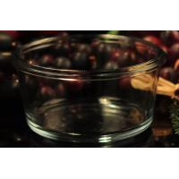 Food Borosilicate Glass Bowl , Tempered Glass Bowls Heat Resistant Manufactures