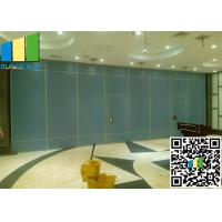 China Folding Partition Walls Divider System Aluminum Profile For Office on sale