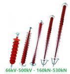 66kV-1000kV high tension insulators polymer insulator composite insulator Manufactures