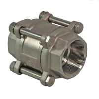 China 3 Pieces Spring Loaded Check Valve ,1000 WOG Butt Weld Check Valve DN80 on sale