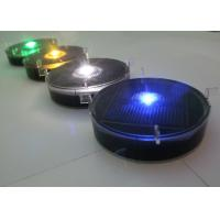 Flashing Solar Delineator Embedded Traffic Lane Markers Anti - Pressured Manufactures