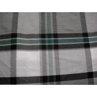 China 100%cotton Yarn Dyed Plaid Fabrics on sale