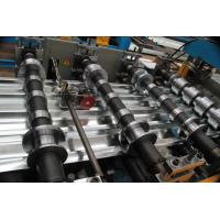 Roofing Sheet Roll Forming Machine with Speed 10 - 15m / min for Construction Material Manufactures