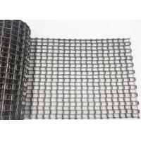 Round Woven Wire Mesh 304 Stainless Steel Honeycomb Conveyor Dryer Screw Belt Manufactures