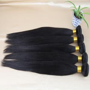 China NO Tangle NO shedding brazilian viring hair ,straight very human hair on sale