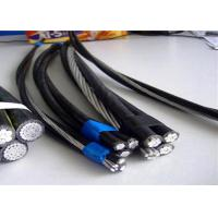 Duplex Aac Phase Acsr Neutral Conductor Service Drop Cable With PVC Jacket Manufactures
