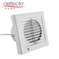 China Deflecto Bathroom Ventilation Fan Louvered Roof 5 Inch 120mm Extractor Fan on sale