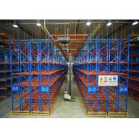 Cold Rolled Heavy Duty Pallet Racks Supermarket Grocery Fire Proof Durable Manufactures
