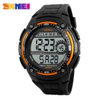 China custom logo men watch SKMEI time clock wholesale slap watches on sale