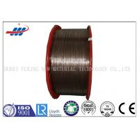 Professional Copper Coated Steel Wire 0.78mm / 1.0mm For Car And Truck Radial Tire Manufactures