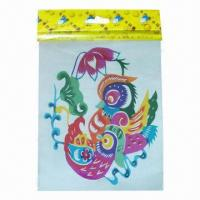 China Water Transfer Temporary Tattoo Stickers with Unique Style, Suitable for Body, Book and Face on sale