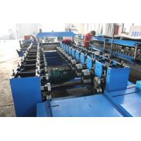 High Standard Cut To Length Steel Door Frame Roll Forming Machine 8200 * 1450 * 1510mm Manufactures