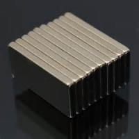 N52 F29x6.5x2.5mm Customized Super Strong Rare Earth Block  Neodymium Magnet Bar Manufactures