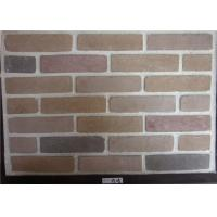 Wide Faux Stone Veneer , Exterior Faux Brick Wall Panels Cement Material Manufactures