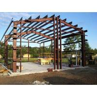Shock Resistant Steel Building Frame , High Strength Steel Space Frame Structures Manufactures