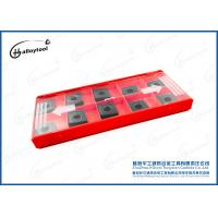 Quality Durable Tungsten Carbide Cutting Tools , Carbide Machining Inserts 150-380m/Min for sale