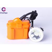 Quality KJ6LM LED Miners Cap Lamp Corded Mining Lights 6Ah Battery for 15 Years for sale
