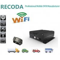 4G realtime WIFI GPS vehicle truck bus car DVR / Mobile DVR with AHD 720P Manufactures