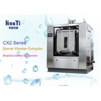 China Automatic Rotary Industrial Washing Machine Front Loading For Hospital Laundry on sale