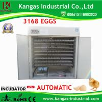 China Factory Custom full Automatic Egg Incubator Eggs for Hatching 3168 Eggs Manufactures