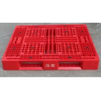 Durable Cold Room Food Grade Storage Plastic Pallet With Steel Tube Manufactures