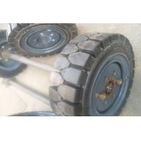 Warehouse loading Forklift Tyre / Genuine and OEM  forklift truck tyres Manufactures