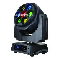 7 X15W LED Moving Head Light Beam RGBW Wireless DMX512 LED Show Lights Manufactures
