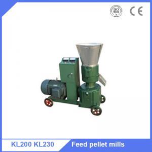 China Hot sale Kenya rice husk  grass 7.5kw  briquette pellet press making  machine on sale