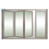 Quality Safety Exterior Aluminium Bifold Doors , Folding Glass Patio Doors As2047 Standard for sale