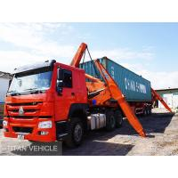 China TITAN  20ft 40ft xcmg Self Loading Container Truck Trailer , xcmg side lifter trailer on sale