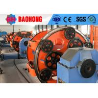 Multiple Planetary Stranding Machine , High Speed Tubular Stranding Machine Manufactures