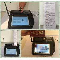 Multi Language Mobile Payment Solutions , Wireless Payment Terminal  for Credit Card Merchant Services Manufactures