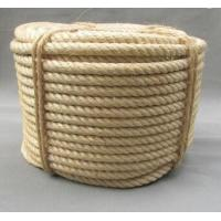 3 strand  twisted natural sisal rope for oil industry Manufactures