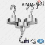 Permanent hook shape neodymium magnet Manufactures