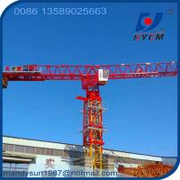 70m or 74m Boom Length 18tons 60m Freestanding Height QTP315 Flattop Topless Tower Crane Manufactures