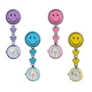 China Smile nursing watches,Professional Nurse factory Fashion new style nurse fob watches nurses watches on sale