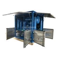 with Closed Doors Transformer Substation Used Transformer Oil Purifier 9000LPH Manufactures