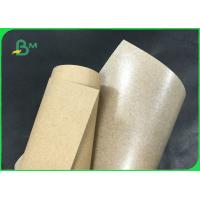 China 300gsm Brown Disposable Coating PE Kraft Paper Making Coffee Cups Milk Tea Cup on sale