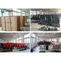Customized Color Pneumatic 4D Cinema Equipment Seats Left Right Manufactures
