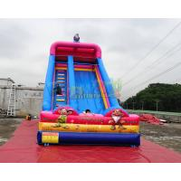 China Inflatable Outdoor bouncy castle slide Elves slides for events on sale